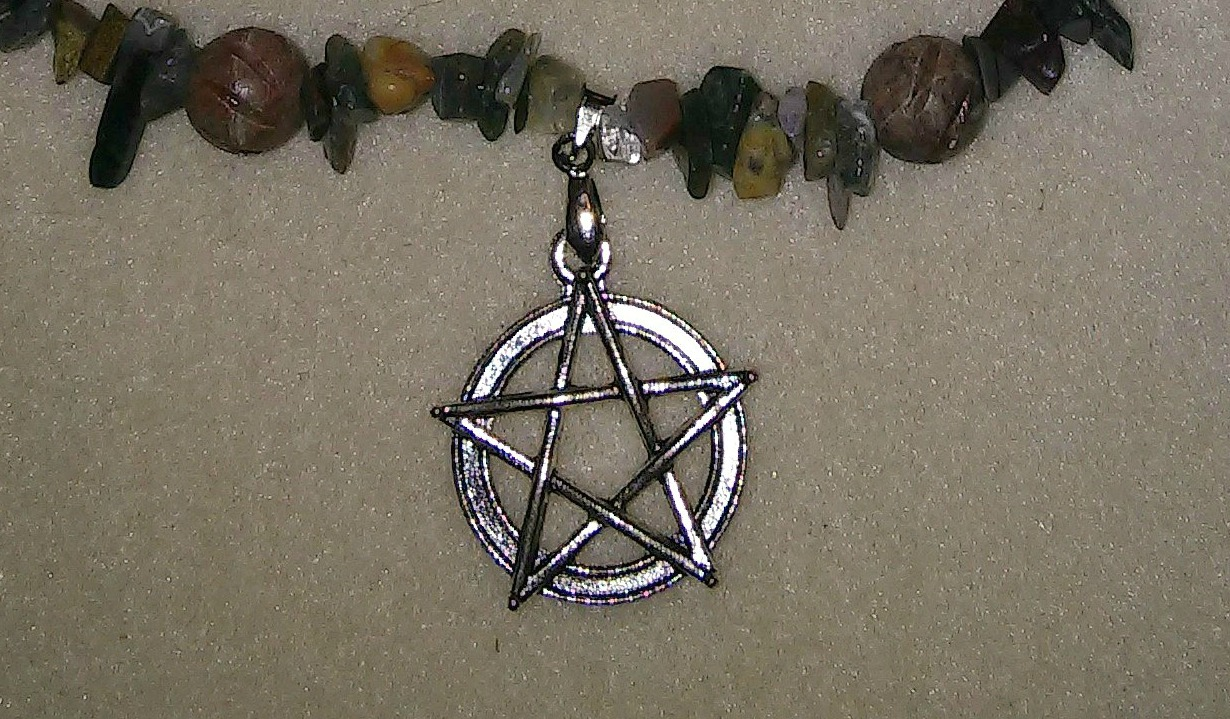 Green Forest Pentacle_Detail